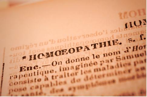 définition homéopathie