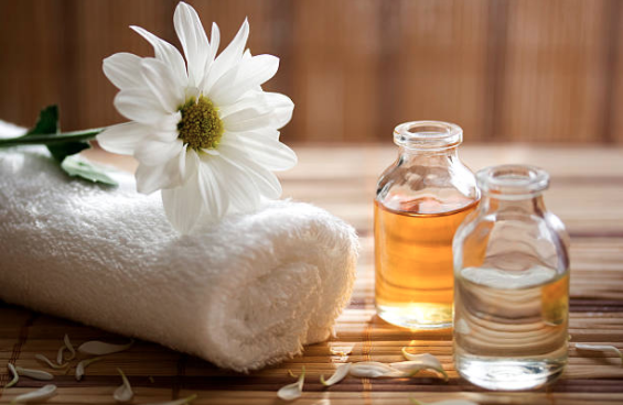 huile essentielle de camomille aux vertus calmantes